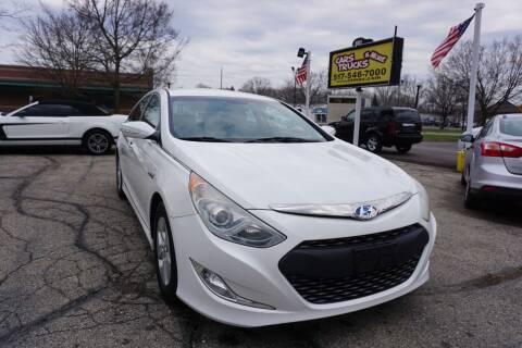 2012 Hyundai Sonata Hybrid for sale at Cars Trucks & More in Howell MI