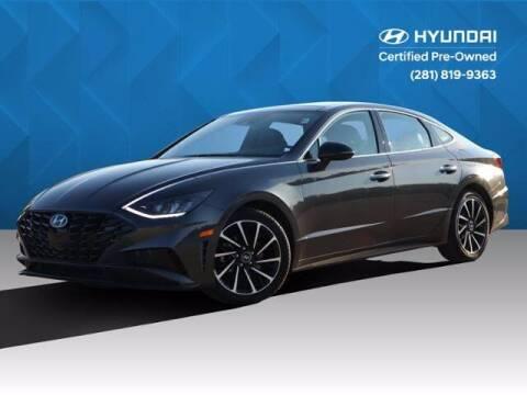 2020 Hyundai Sonata for sale at BIG STAR HYUNDAI in Houston TX