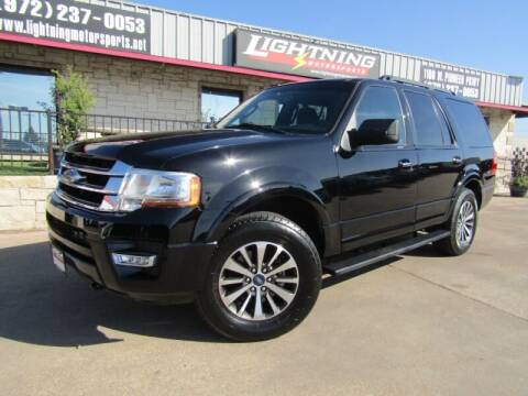 2016 Ford Expedition for sale at Lightning Motorsports in Grand Prairie TX