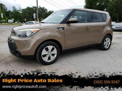 2014 Kia Soul for sale at Right Price Auto Sales in Waldo FL