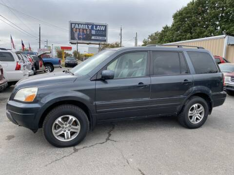 2004 Honda Pilot for sale at C&R  MOTORS in San Antonio TX