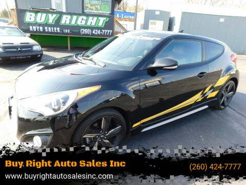 2013 Hyundai Veloster for sale at Buy Right Auto Sales Inc in Fort Wayne IN