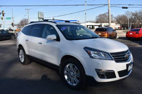 2015 Chevrolet Traverse for sale at World Class Motors in Rockford IL