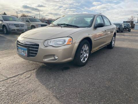 2004 Chrysler Sebring for sale at Auto Tech Car Sales and Leasing in Saint Paul MN