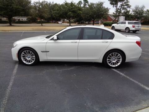 2012 BMW 7 Series for sale at BALKCUM AUTO INC in Wilmington NC