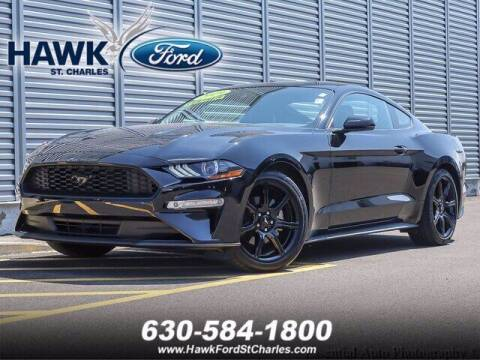 2019 Ford Mustang for sale at Hawk Ford of St. Charles in St Charles IL