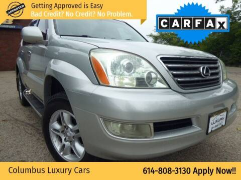 2003 Lexus GX 470 for sale at Columbus Luxury Cars in Columbus OH