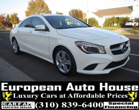 2016 Mercedes-Benz CLA for sale at European Auto House in Los Angeles CA