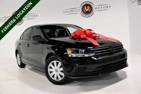 2016 Volkswagen Jetta for sale at Unlimited Motors in Fishers IN