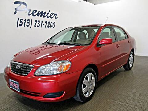 2008 Toyota Corolla for sale at Premier Automotive Group in Milford OH