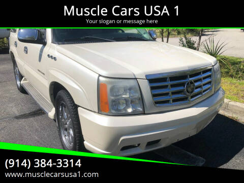 2005 Cadillac Escalade for sale at Muscle Cars USA 1 in Murrells Inlet SC