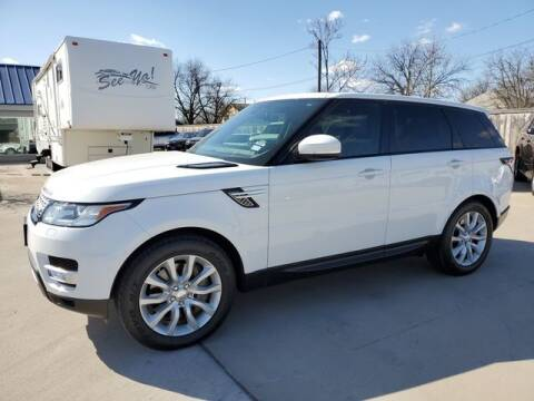 2014 Land Rover Range Rover Sport for sale at Kell Auto Sales, Inc - Grace Street in Wichita Falls TX