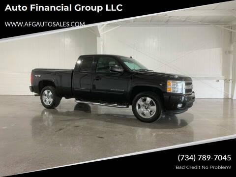 2011 Chevrolet Silverado 1500 for sale at Auto Financial Group LLC in Flat Rock MI
