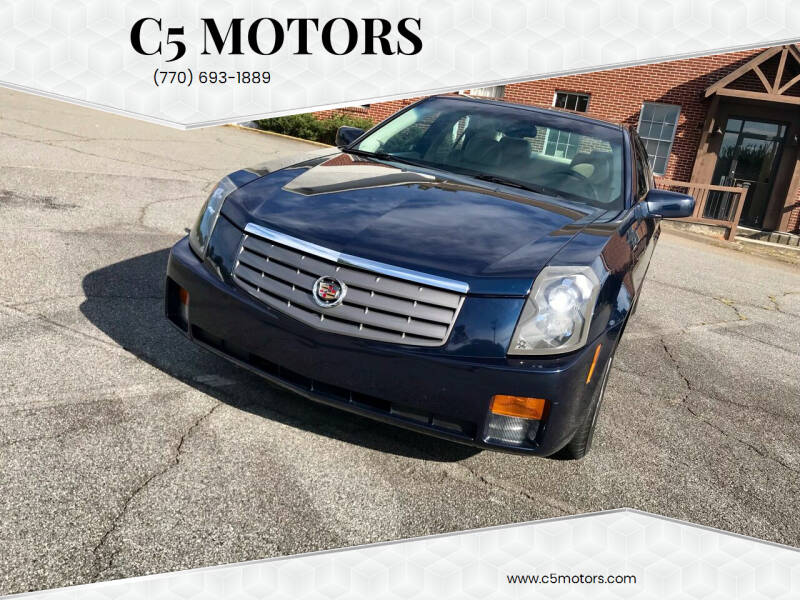 2004 Cadillac CTS for sale at C5 Motors in Marietta GA