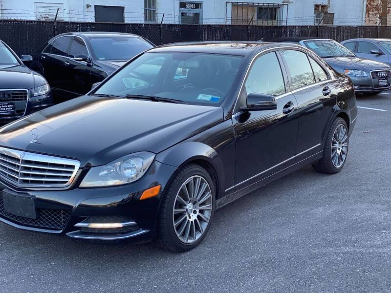 2013 Mercedes-Benz C-Class for sale at QUALITY AUTO SALES OF NEW YORK in Medford NY
