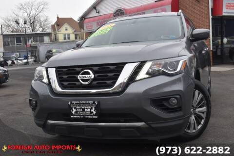 2018 Nissan Pathfinder for sale at www.onlycarsnj.net in Irvington NJ