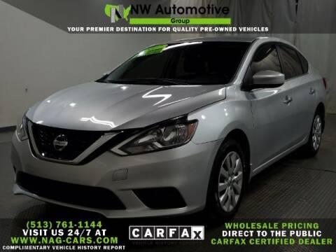 2017 Nissan Sentra for sale at NW Automotive Group in Cincinnati OH