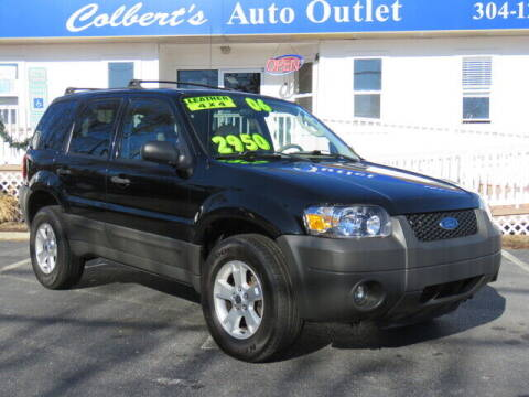 2006 Ford Escape for sale at Colbert's Auto Outlet in Hickory NC