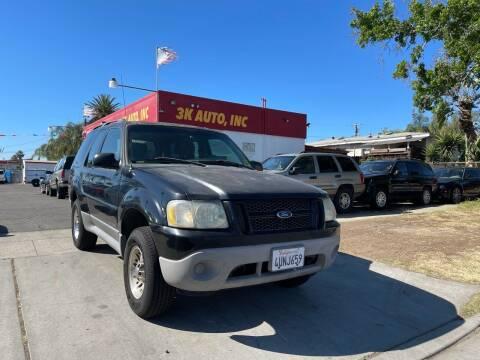 2001 Ford Explorer Sport for sale at 3K Auto in Escondido CA