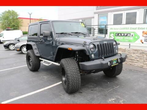 2016 Jeep Wrangler for sale at AUTO POINT USED CARS in Rosedale MD