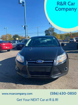 Ford Focus for sale at R&R Car Company in Mount Clemens MI