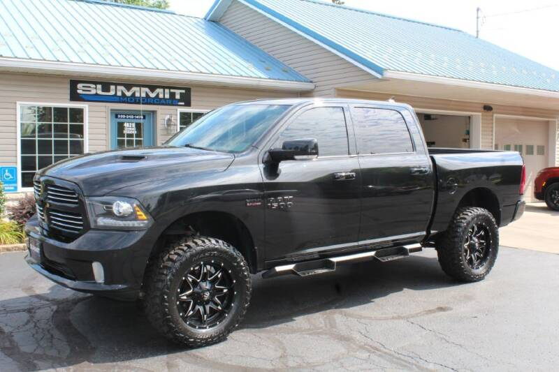 2016 RAM Ram Pickup 1500 for sale at Summit Motorcars in Wooster OH