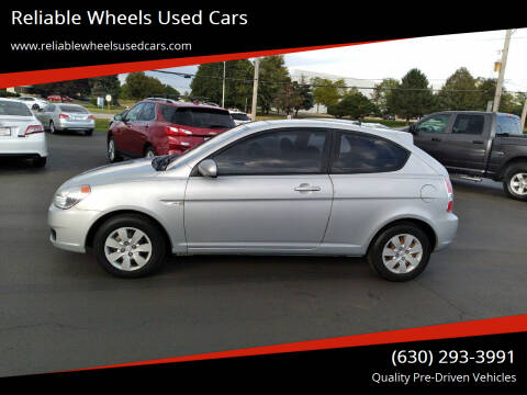 2010 Hyundai Accent for sale at Reliable Wheels Used Cars in West Chicago IL