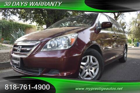 2007 Honda Odyssey for sale at Prestige Auto Sports Inc in North Hollywood CA