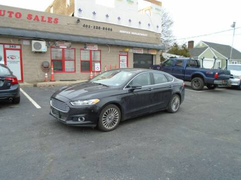2013 Ford Fusion for sale at Gemini Auto Sales in Providence RI