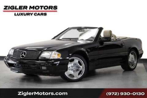 1998 Mercedes-Benz SL-Class for sale at Zigler Motors in Addison TX