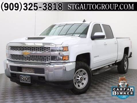 2019 Chevrolet Silverado 2500HD for sale at STG Auto Group in Montclair CA
