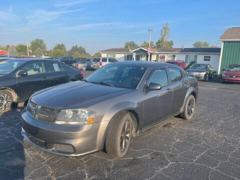 2014 Dodge Avenger for sale at Pine Auto Sales in Paw Paw MI