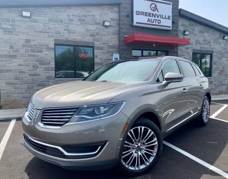 2017 Lincoln MKX for sale at GREENVILLE AUTO & RV in Greenville WI