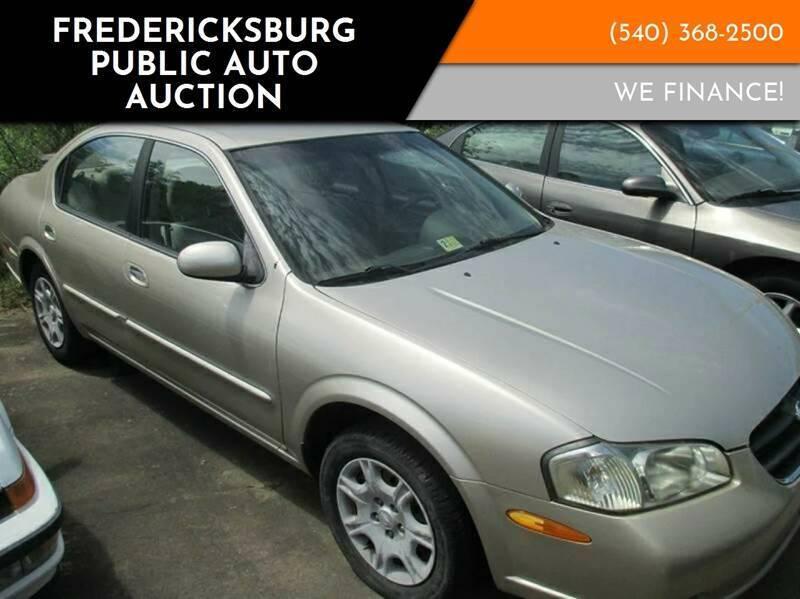 2000 Nissan Maxima for sale at FPAA in Fredericksburg VA