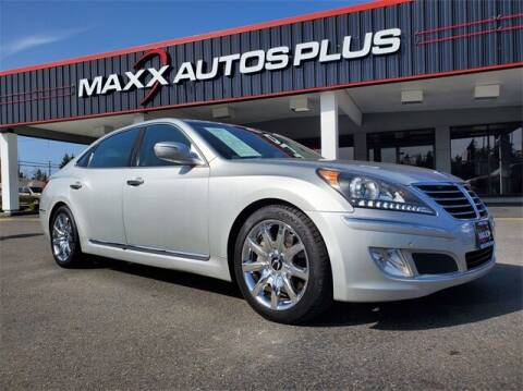 2013 Hyundai Equus for sale at Maxx Autos Plus in Puyallup WA
