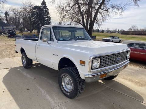 1972 Chevrolet C/K 10 Series for sale at B & B Auto Sales in Brookings SD