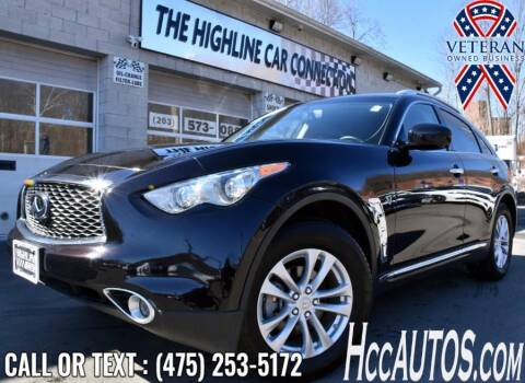 2017 Infiniti QX70 for sale at The Highline Car Connection in Waterbury CT