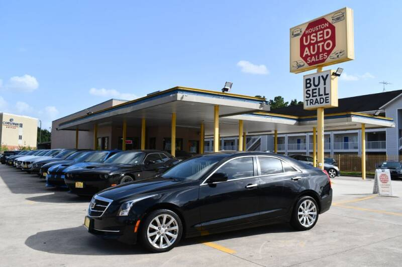 2018 Cadillac ATS for sale at Houston Used Auto Sales in Houston TX
