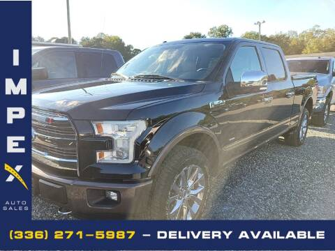 2016 Ford F-150 for sale at Impex Auto Sales in Greensboro NC