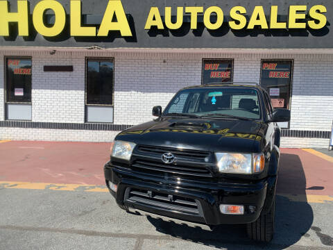2002 Toyota 4Runner for sale at HOLA AUTO SALES CHAMBLEE- BUY HERE PAY HERE - in Atlanta GA