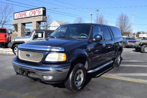 2003 Ford F-150 for sale at I-DEAL CARS in Camp Hill PA