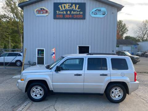 2008 Jeep Patriot for sale at IDEAL TRUCK & AUTO LLC in Coopersville MI