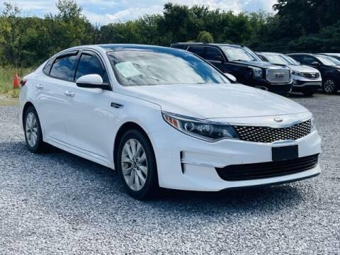 2018 Kia Optima for sale at RUSTY WALLACE CADILLAC GMC KIA in Morristown TN