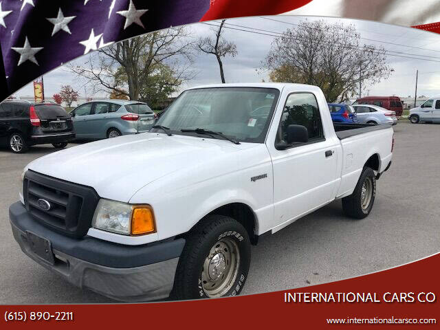 2005 Ford Ranger for sale at International Cars Co in Murfreesboro TN