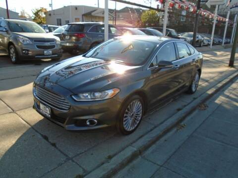 2016 Ford Fusion for sale at Car Center in Chicago IL