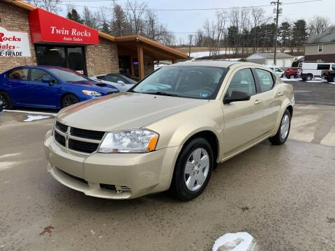 2010 Dodge Avenger for sale at Twin Rocks Auto Sales LLC in Uniontown PA