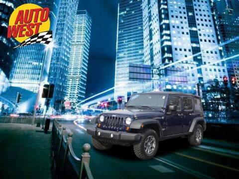 2013 Jeep Wrangler Unlimited for sale at Autowest of GR in Grand Rapids MI