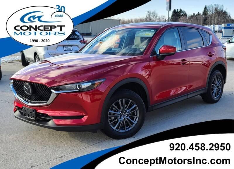 2019 Mazda CX-5 for sale at CONCEPT MOTORS INC in Sheboygan WI