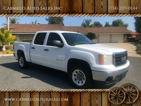 2008 GMC Sierra 1500 for sale at Carmelo Auto Sales Inc in Orange CA