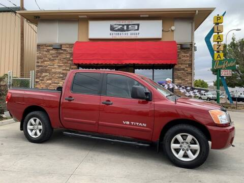 2008 Nissan Titan for sale at 719 Automotive Group in Colorado Springs CO